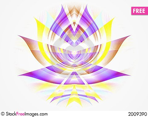Free Purple Symmetrical Pattern Stock Photo - 2009390