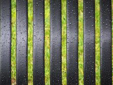 Free Wet Bench Slats Royalty Free Stock Image - 2000956