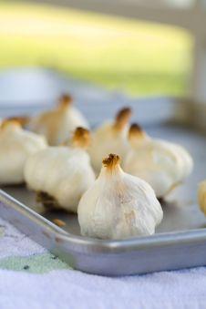 Free Garlic Bulbs Roasted Stock Photo - 2001240