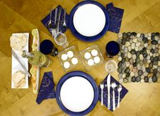 Free Place Setting On Table Stock Images - 2002934