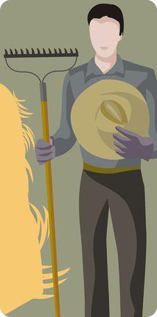 Free Farmer Illustration Stock Images - 2003074