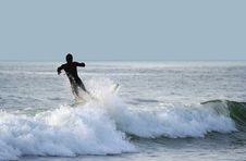Free Surfer Falling Stock Photo - 2004000