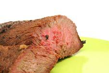 Free Medium Rare Grilled Steak Royalty Free Stock Photos - 2004428
