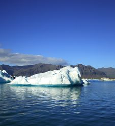 Iceberg, Jokulsarlon Lagoon Royalty Free Stock Photos