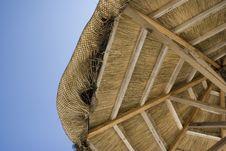 Free Straw Beach Hut Covering Stock Image - 2004741