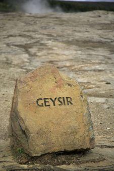 Free Geysir Royalty Free Stock Photo - 2004775