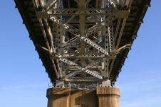 Free Huey P Long Bridge Royalty Free Stock Image - 2005836