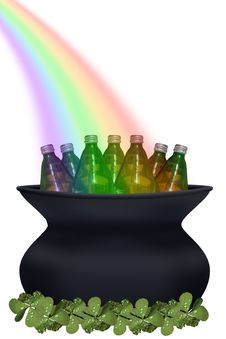 Free Pot Of Gold Stock Images - 2006694