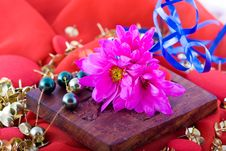 Free Composition With Flowers. Royalty Free Stock Images - 2006789