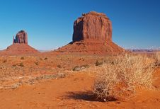 Free Monument Valley Navajo Tribal Park Royalty Free Stock Photos - 2006818