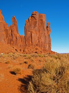 Free Monument Valley Navajo Tribal Park Stock Images - 2006874
