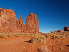 Free Monument Valley Navajo Tribal Park Royalty Free Stock Images - 2006899