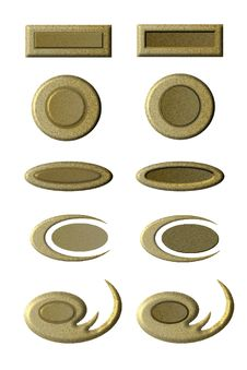 Free Pressed And Unpressed Buttons Stock Images - 2007504