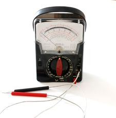 Free Ohm Meter Stock Photo - 2008640