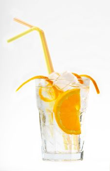 Lemon Cocktail Stock Photo