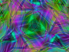 Free Chaotic Stripes Textures Royalty Free Stock Image - 2009266