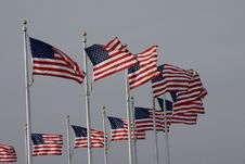 Free USA Flags Stock Images - 2009484