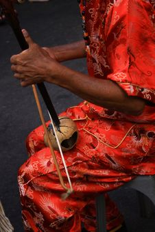 Free Playing Chinese Instrument Stock Images - 2009534