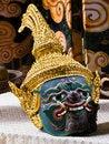 Free Kind Of Thai Drama Mask Stock Photography - 20000212