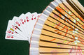 Free Street Of Diamonds With A Fan Royalty Free Stock Photography - 20003537