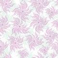 Free Art Flower Seamless Background Stock Image - 20003981