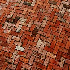 Free Brick Work Patio Stock Photo - 20000210