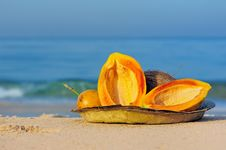 Free Fruit At Sea Royalty Free Stock Images - 20000559