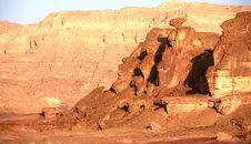 Free Travel In Arava Desert Stock Images - 20000674