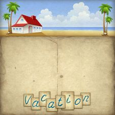 Free Vacation Background Royalty Free Stock Images - 20000769