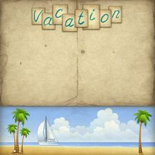 Free Vacation Background Royalty Free Stock Photos - 20000788
