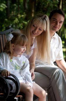 Free Family At Park Stock Photos - 20001023