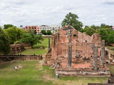 Free Ancient Temple In Ayutthaya Thailand Royalty Free Stock Images - 20001949