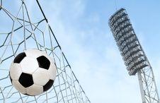 Free Soccer Ball Stock Photo - 20002600