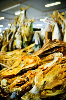 Free Dried Fish Stock Photography - 20002942