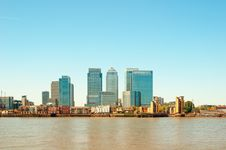 Canary Wharf, London Royalty Free Stock Image
