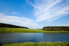 Free Summer Lake And Forest View. Stock Photo - 20003750