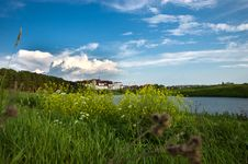 Free Summer Lake And Forest View. Stock Images - 20003794