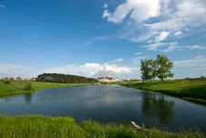 Free Summer Lake And Forest View. Royalty Free Stock Photography - 20003807