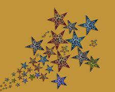 Free Handmade  Stars  Illustration Stock Photos - 20004123