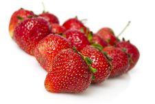 Free Fresh Appetizing Strawberry Royalty Free Stock Photography - 20004217