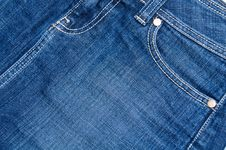 Free Jeans Detail Stock Photography - 20005992