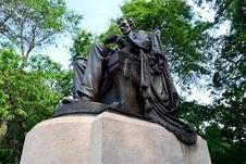 Lincoln In Grant Park Stock Image