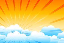Free Sunburst Stock Images - 20006254