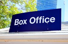 Free Box Office Stock Photos - 20007243