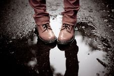 Free Rosy Shoes Royalty Free Stock Photos - 20007798