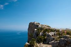 Free Mirador Next To Cap De Formentor Royalty Free Stock Photography - 20007847