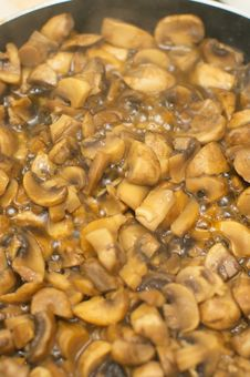 Free Fried Mushrooms Stock Images - 20008094