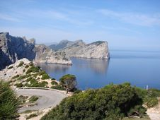 Free Mirador Next To Cap De Formentor Royalty Free Stock Photos - 20008188