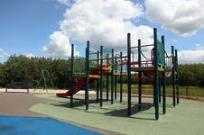 Free Children Playground Equipment Stock Photos - 20008203