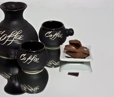 Free Coffee Set Stock Images - 20008584